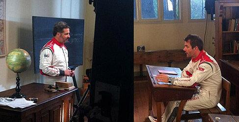 Video: Sebastien Loeb aprende de Yvan Muller