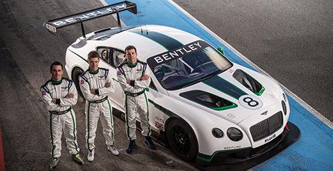 El Bentley Continental GT3 está listo para correr en Abu Dhabi