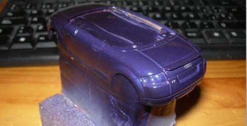 Audi crea el primer servicio postventa de miniaturas