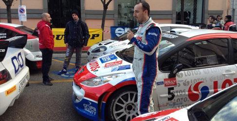 Robert Kubica venció en el Rally Ronde di Sperlonga