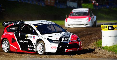 Solberg y Alex Hvaal unidos en el Mundial de Rallycross