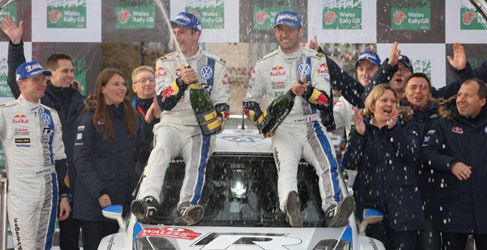 Sebastien Ogier encabeza el World Rally Ranking 2013