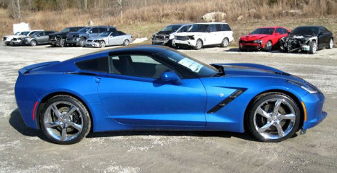 Regalos de navidad: 2014 Chevrolet Corvette Stingray