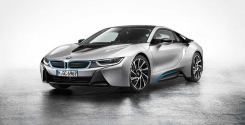 Un prototipo del BMW i8 sufre un accidente