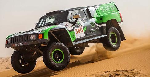 Dakar 2014: Ford y Hummer con mucho que decir