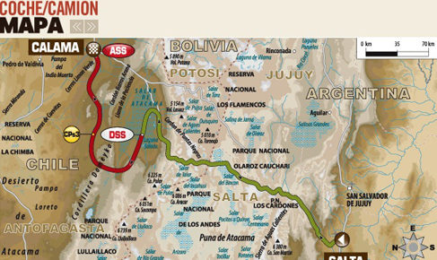 Dakar 2014: Etapa 8 entre Uyuni y Calama