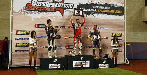 Brad Baker ganó el Superprestigio Dirt Track