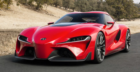 Toyota presenta el FT-1 en Detroit