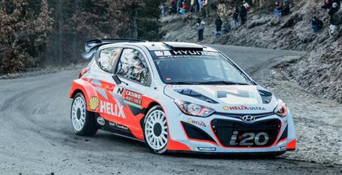 Sebastien Ogier domina el shakedown del Rally de Montecarlo