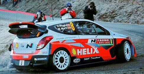 Bryan Bouffier es el primer líder del Rally de Montecarlo