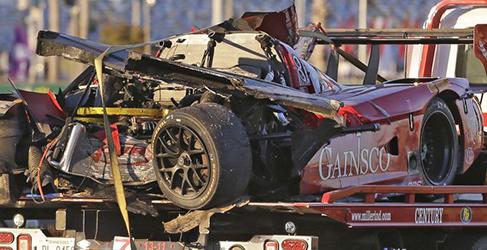 24h Daytona: Antonio García abandona y los Corvette DP recuperan el liderato