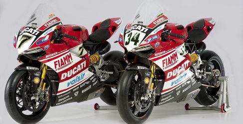 Honda y Ducati presentan sus equipos del WSBK 2014