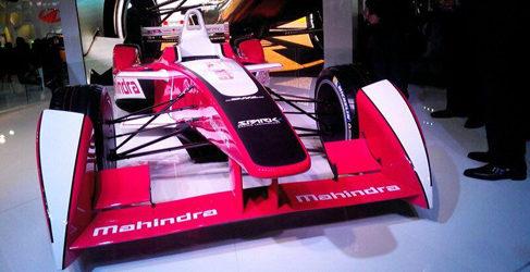 Mahindra ya presume de monoplaza de la Formula E