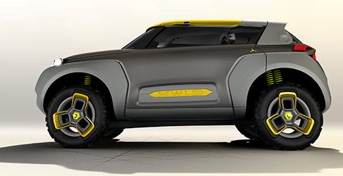 Renault presenta el KWID Concept