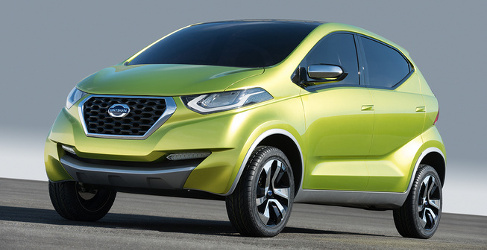 Nissan desvela el Datsun redi-GO en Delhi