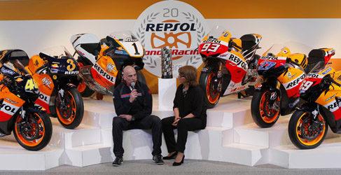 Honda y Repsol celebran sus 20 años de colaboración