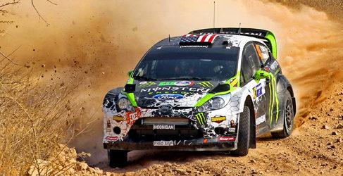 Ken Block no estará en el Rally de México 2014