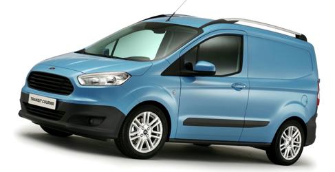 La Ford Transit Courier ya tiene listado de precios