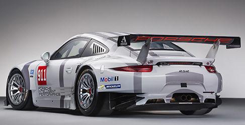 El Porsche 911 RSR al detalle