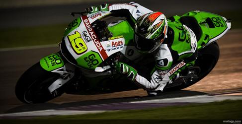 Aleix Espargaró estrena el test MotoGP de Losail al frente