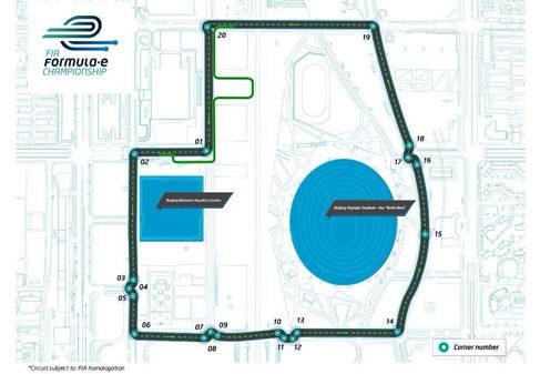 Beijing ya tiene trazado para el estreno de la Formula E