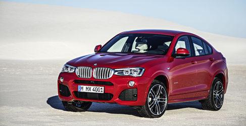El nuevo BMW X4 se pone delante de la cámara