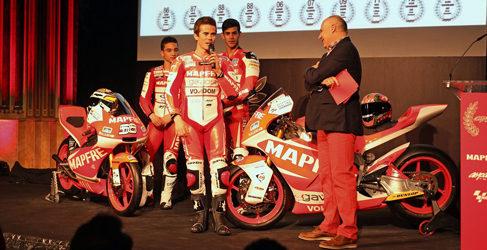 El equipo Mapfre Aspar de Moto2 y Moto3 se presenta