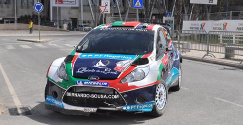 Bernardo Sousa en siete pruebas del WRC2