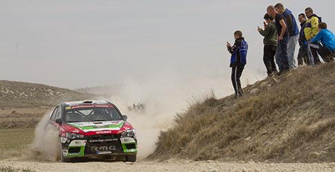 Doblete para el ACSM Rallye Team en el Rally de Lorca