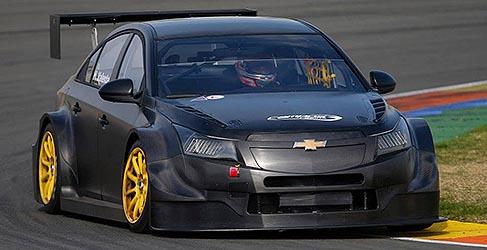El nuevo Chevrolet Cruze TC1 impresiona en su debut