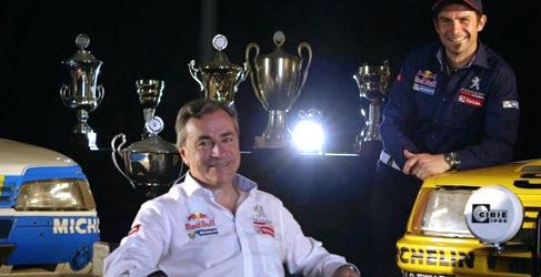 Carlos Sainz y Cyril Despres pilotos de Peugeot para el Dakar