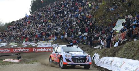 Sebastien Ogier se estrena en el Fafe Rallysprint con victoria