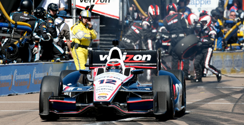 Will Power se impone con facilidad en Saint Petersburg