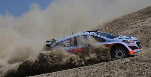 Tres Hyundai i20 WRC para luchar en el Rally de Portugal