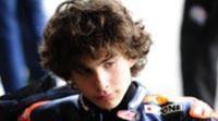 El joven Lorenzo Baldasarri con Gresini en Moto3 2013